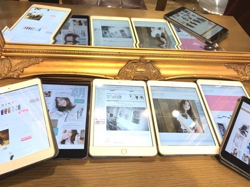 iPad全席完備しました!