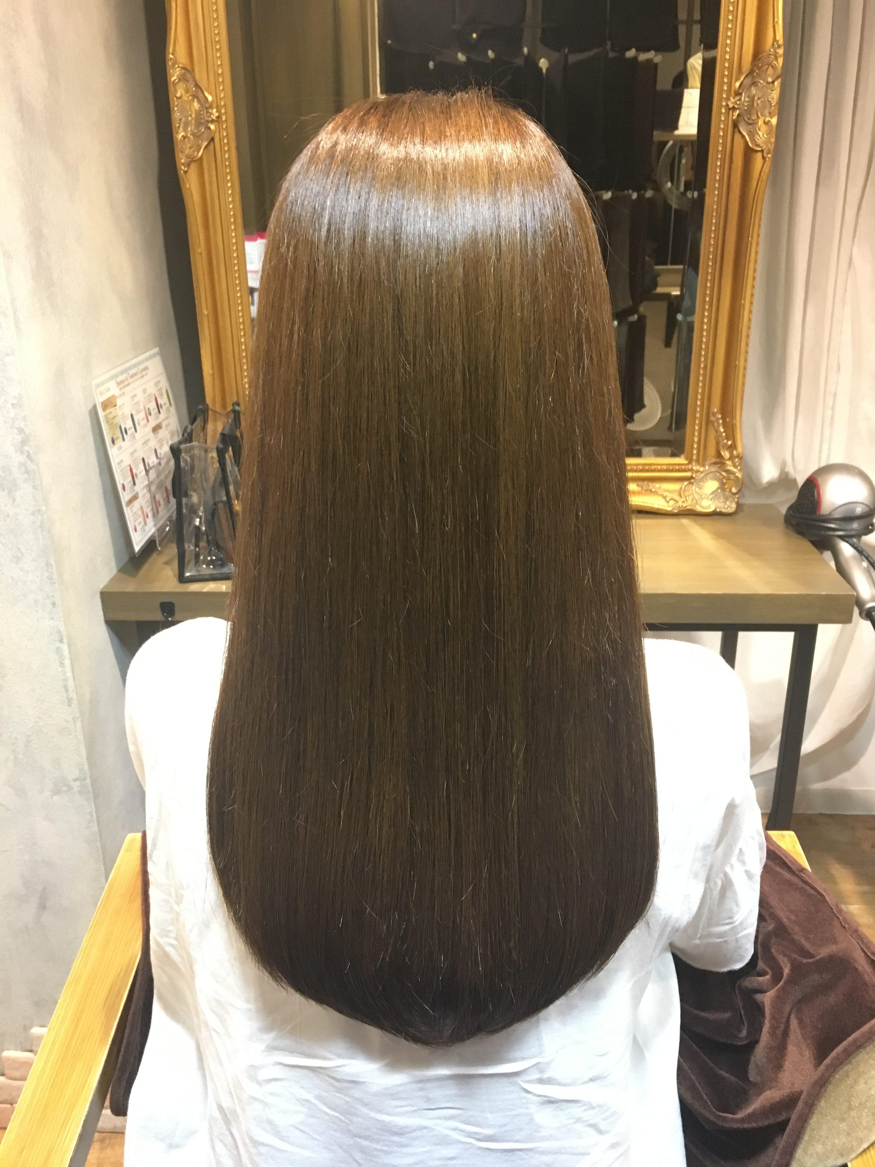 【池袋オージュア】毛先までまとまるツヤ髪