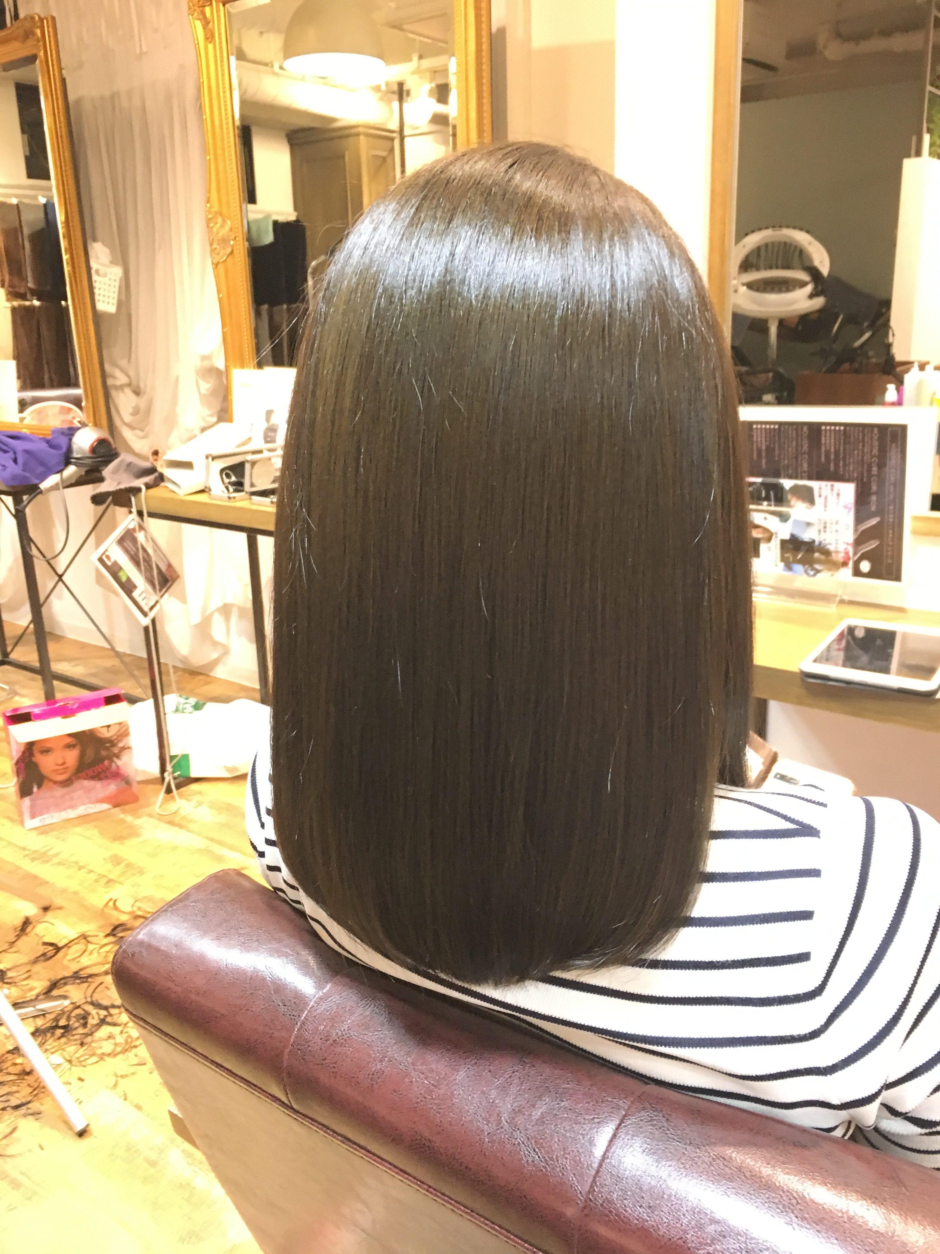 【池袋オージュア】毛先までまとまるツヤ髪に!