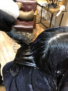 池袋 ジアミン除去 頭皮のかゆみ カラー後 カラーリング