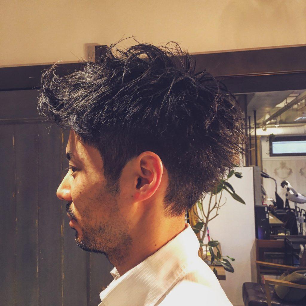スーツが似合う髪型