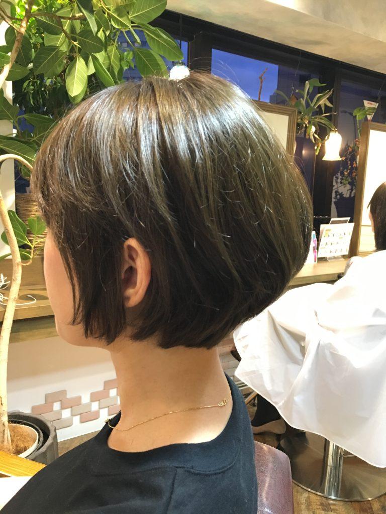 オフィスカジュアル ボブ 髪型