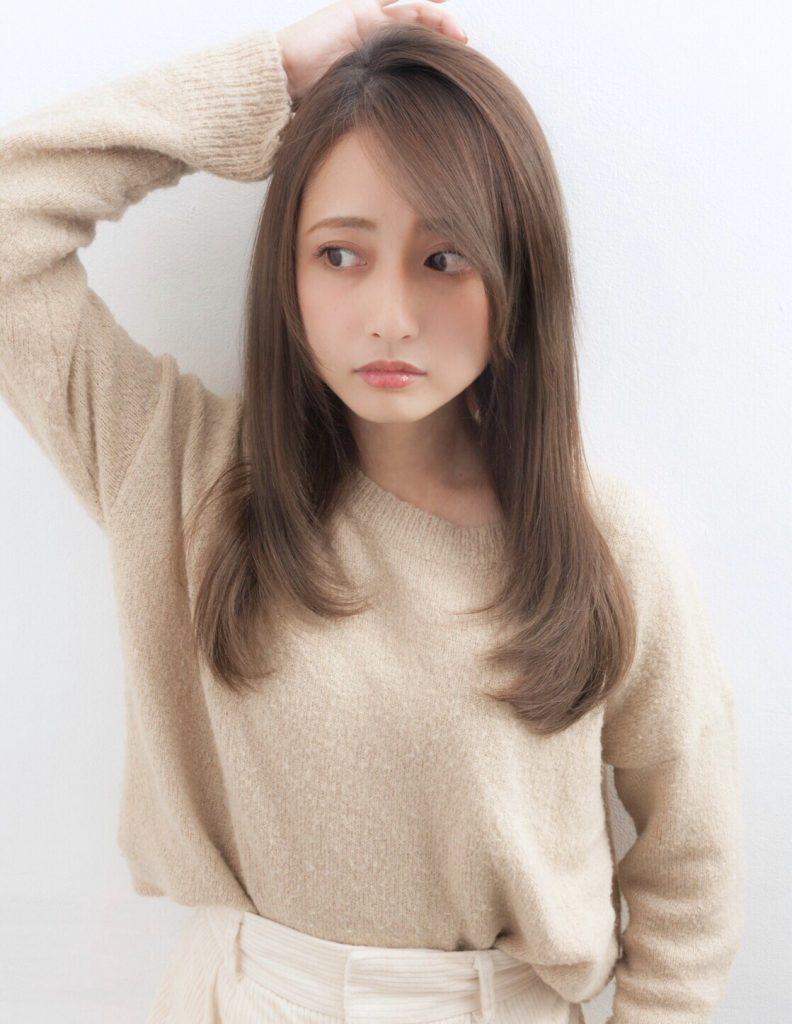 髪型 ヘアスタイル ロング セミロング 艶髪