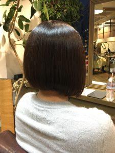 イルミナカラー ボブ 艶髪