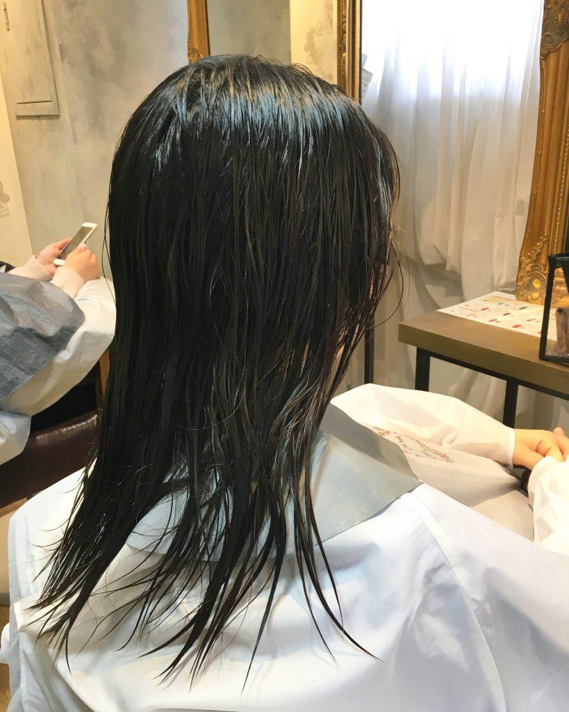 朝が楽な髪型