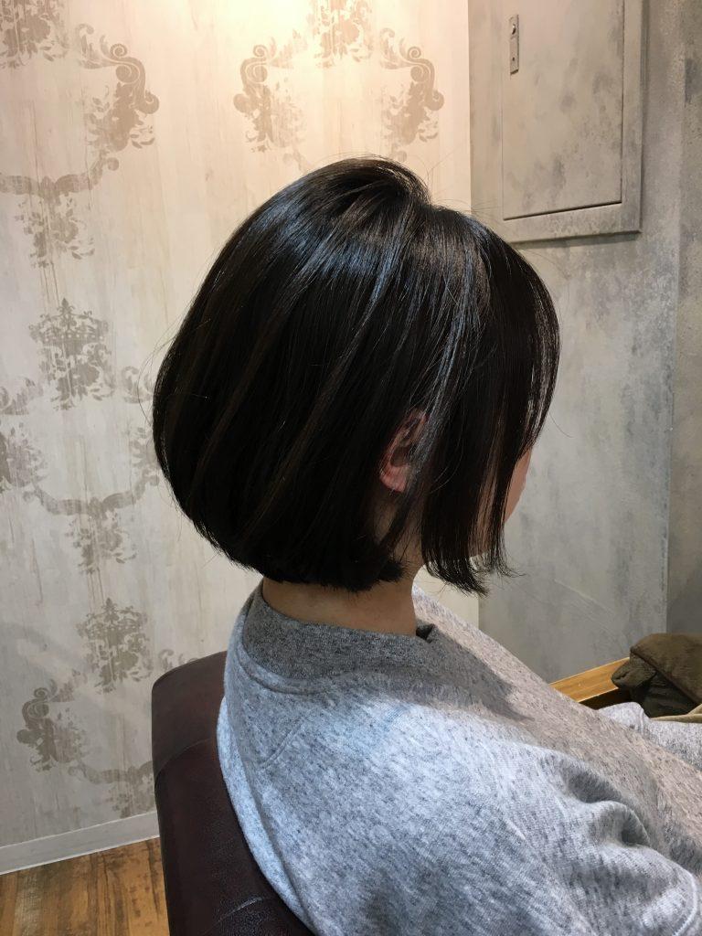 池袋 バッサリ 扱いやすい髪型