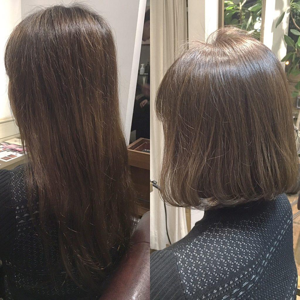 扱いやすい髪型