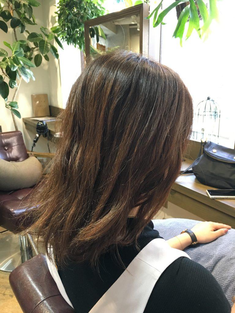 クセを生かす髪型