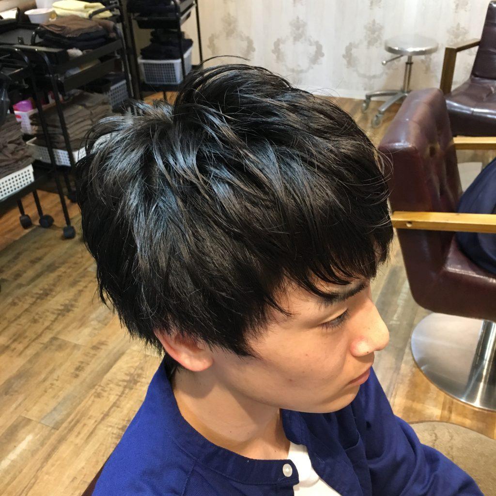 池袋美容室 ビジネスマン 髪型
